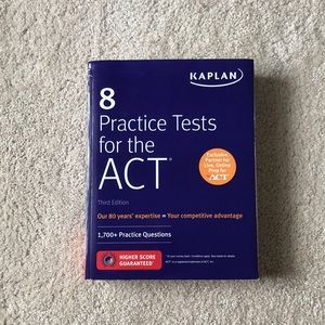 Other - Kaplan ACT Study Book